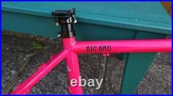 Brother Cycles Big Bro bike steel frame- Large- bikepacking adventure gravel