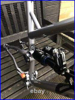 COTIC ROCKETMAX frame and Cane Creek Double Barrel Air Shock- Large