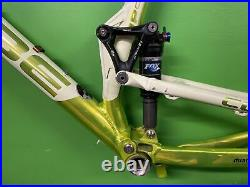 CUBE STEREO HPA ALL ALLOY FULL SUSPENSION FRAME + FOX REAR SHOCK, MTB, DH, FR s/750
