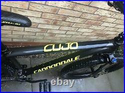 Cannondale Cujo 3 20 Frame 27.5+Hardtail Mountain Bike Suspension