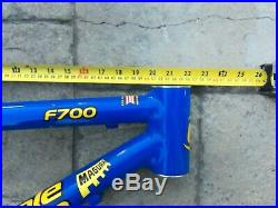 Cannondale F700 frame 16 Volvo blue