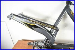 Cannondale Rush 5 Lefty Speed Full Suspension Mountain Bike 26 Frame Only 19