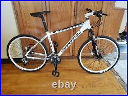 Cannondale Trail 6 mountain bike. Manitou Axel, 203mm, Frame up build. Medium
