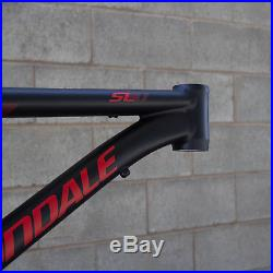 Cannondale Trail SL 29er 2015 Size XL FRAME ONLY Black Red BBQ