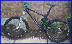 Canyon Nerve 140 Full Suspension Mountain Bike Deore XT Large frame