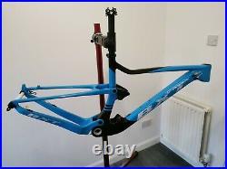 Carbon Full Suspension Frame mtb 29er Bike Bicycle Frameset 142mm BSA