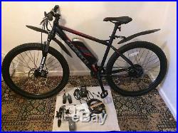 Carrera Vengeance E Mens Electric Mountain Bike 18 Frame Brand New