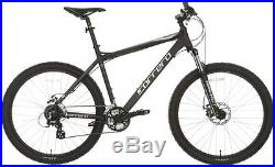Carrera Vengeance Mens MTB Mountain Bike Alloy Frame 27.5 Inch Wheels Black