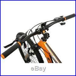 Carrera Vengeance Mens MTB Mountain Bike Alloy Frame 27.5 Inch Wheels Orange