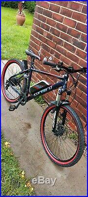 Carrera vengeance e spec electric bike mountain bike ebike 20 inch frame
