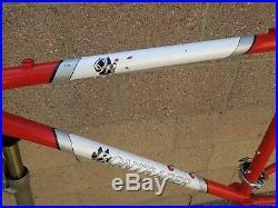 Classic Bontrager Race OR Mountain Bike cockpit frame set Rock Shox Judy XC