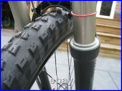 Completely upgraded hardtail mountain bike, Small frame, Reba Race 130mm forks