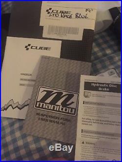 Cube 29er Race Limited 2016, Front Suspension, Blue 19 Frame