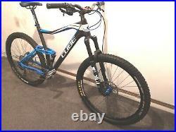 Cube stereo 140 HPC carbon 29er blue XL 22 Frame