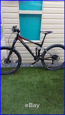 Cube stero pro 140 mm Full suspension mountain bike 27.5 frame 2 year's old ver