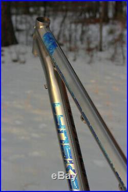 Custom Anodized Lynskey Ridgeline 29 Titanium Mountain Bike Frame 15/Small