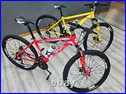DAKAR GT Unisex Mens Womens Adult Mountain Bike Hybrid Bike 27.5/26 18 Frame