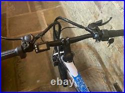 E Bike Mtb 26 Wheels Front Suspension Electric Mountain Bike Mak Steel Frame
