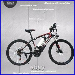 Electric Mountain Bike 48v/10ah(New, High Quality Carbon Steel Frame)