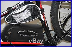 Electric Mountain E Bike 500W New 2017 Model Fireball Red/Black 27.5 Wheels
