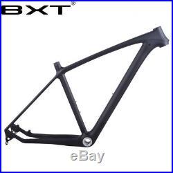 Full Carbon Mountain Bike Frame 29er Glossy/matt Carbon Fiber MTB Bicycle Frames