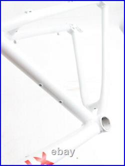 Full Dynamix 26 Aluminum 19 Hardtail Mountain Bike Frame Disc White NEW
