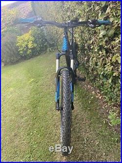 Full Suspension Mountain Bike Giant Large Frame 27.5 Wheels