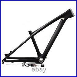 Full carbon fiber mtb bike frame 26er 14 Mountain bicycle frameset BB92