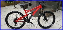 Full suspension Mountain Bike MTB CALIBRE BOSSNUT evo Medium Frame, Great con