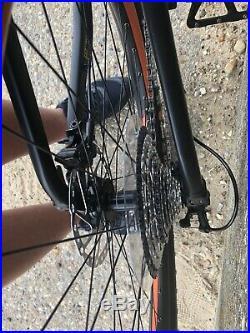 Full suspension mountain bike frame medium