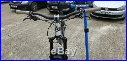 Full suspension mtb 2017 lappierre zesty am 427 size medium 17 inch frame 750b