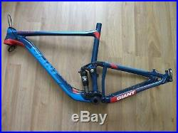 GIANT ANTHEM 1 27.5 100mm FULL SUSPENSION FRAME 2015 Large great condition