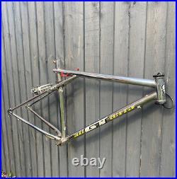 GT Backwoods 1990s Chrome Retro Vintage Mountain Bike MTB Rare Steel Frame