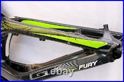 GT Fury Expert Medium MTB Downhill Bike Frame With FOX DHX2 Coil Shock 27.5 200mm