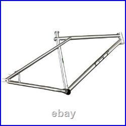 GT Peace Single Speed 26 MTB Disc Frame 520 Reynolds 18 Medium Triple Triangle