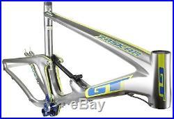 GT Zaskar 100 Team Carbon Mountain Bike Full Suspension Frame Silver L 26