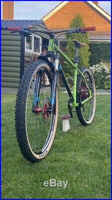 Genesis High Latitude Steel Frame 29er Hope Pro4s Mountain Bike Mtb