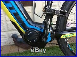 Giant Dirt E Electric Mountain Bike 2016 large Frame 27.5 Wheels