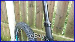 Giant Trance 1 full suspension mountain bike 2018 medium frame blue 27.5 wheels