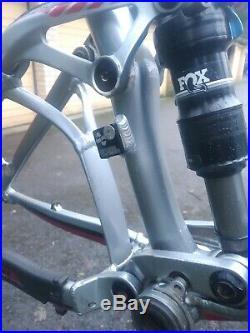 Giant Trance 27.5 full suspension mountain bike frame, 650B, size large, 2015
