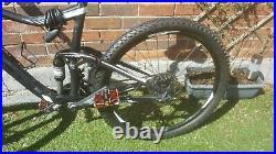 Giant trance 27.5 large frame full suspension mountain bike