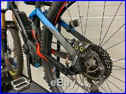 Haibike Allmtn Pro electric mountain bike only 629 miles Large Frame