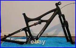Ibis Mojo 3 Carbon Bike Frame / Large, Rockshock Fork, Fox Float Factory Shock