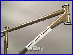 Jamis Dragon 29 29er MTB Steel Frame Bronze 15 Single Speed Sliding Dropouts