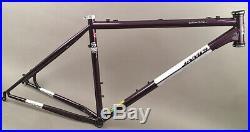 Jamis Dragon 650b 27.5 Mountain MTB Bike Steel Frame Deep Purple 17 w Headset