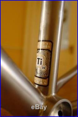 Jones Titanium Mountain Bike Frame 29er