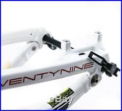 KHS Team 29 FS 16.5 Small Carbon 29er Full Suspension MTB Bike Frame NEW