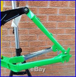 Kona Coiler Dee-Lux 17 medium mountain bike MTB enduro/freeride frame Stinky