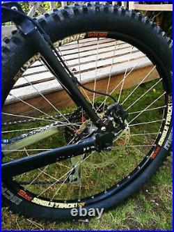 Kona Coiler Full Suspension Mountain Bike (Small/Medium Frame) Downhill Retro