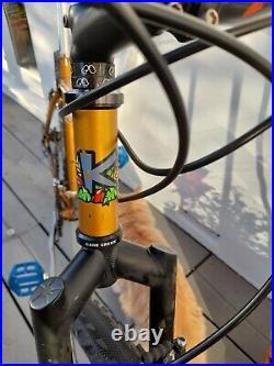 Kona Explosif 1997 mtb retro mountain bike 18 Columbus Max steel frame